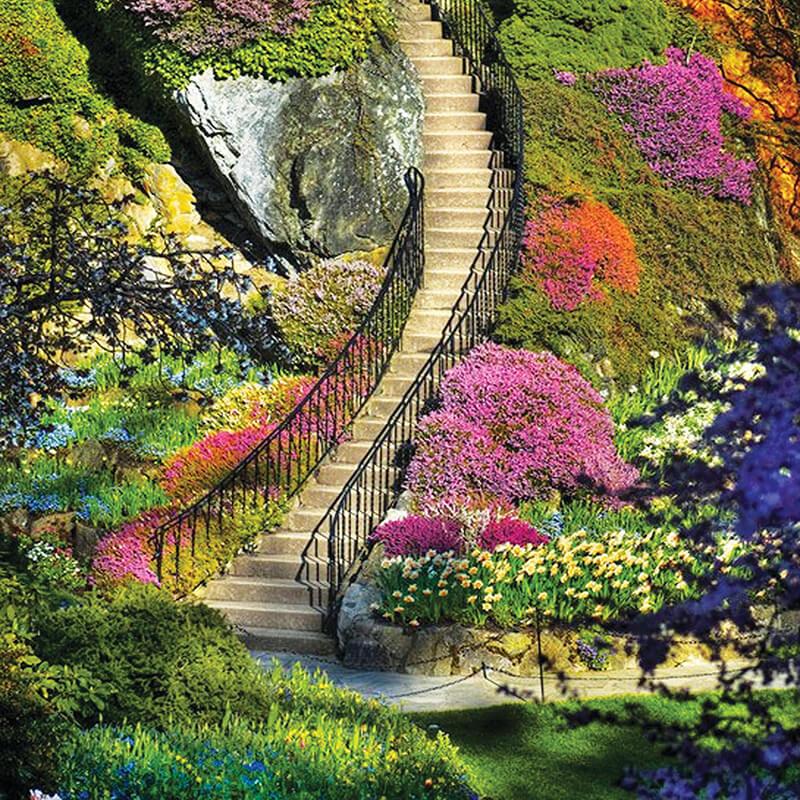 باغ های گل بوچارت ، بهشت ونکوور
