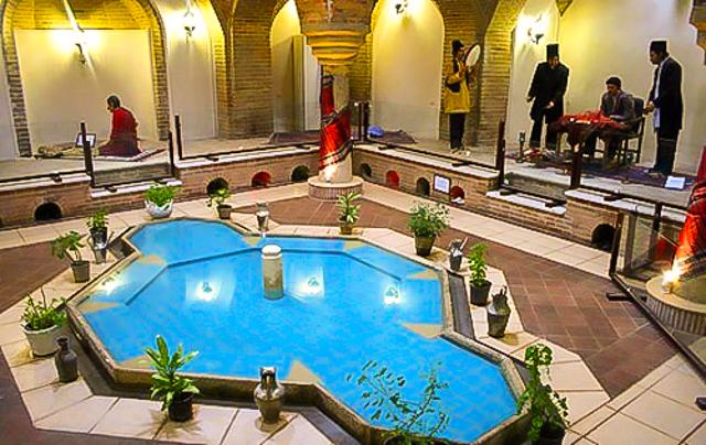حمامی با معماری ایرانی و اسلامی