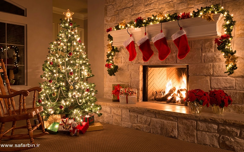 کریسمس جشن بزرگداشت سال نو میلادی