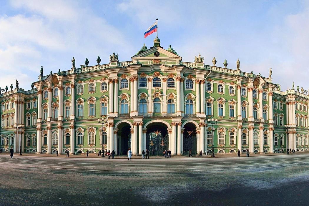 موزه ارمیتاژ سنت پترزبورگ تاریخی ترن موزه جهان