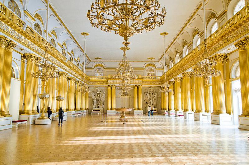 موزه ارميتاژ سنت پترزبورگ تاريخي ترن موزه جهان