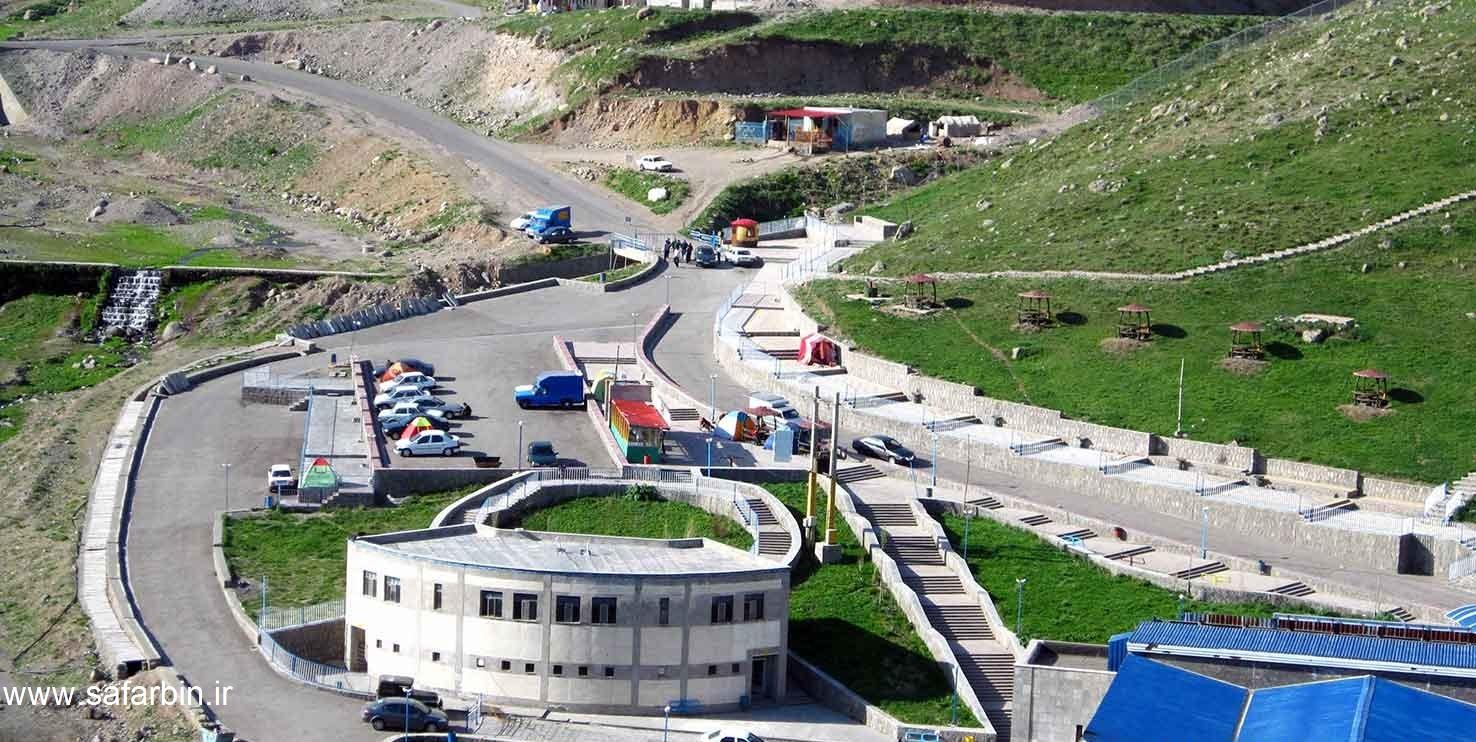 داغ ترین چشمه آب گرم در ایران